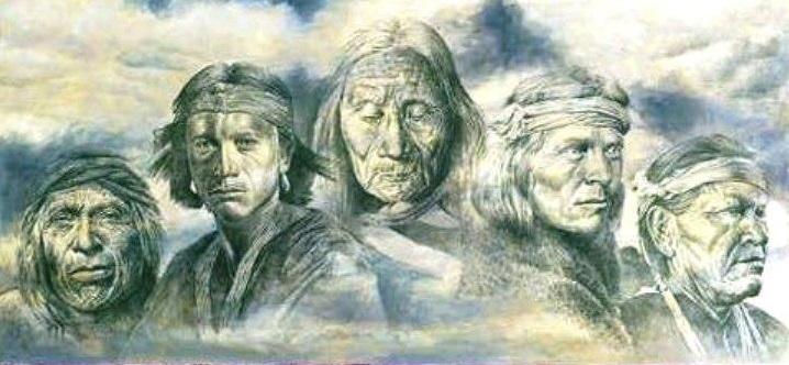 Maestrii ascensionati nativi nordamericani